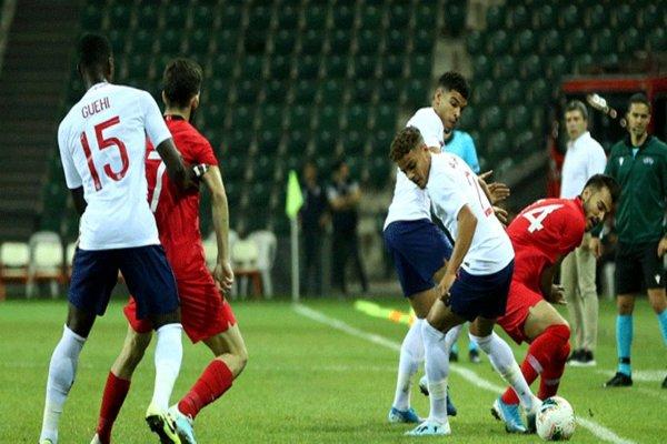 Ümit Milli Takım, İngiltere'ye 2-1 mağlup oldu